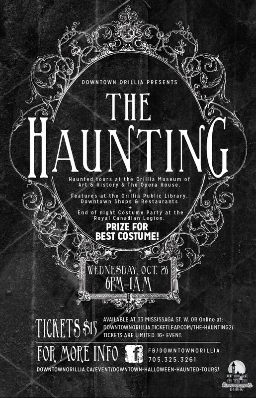 Downtown Orillia Presents The Haunting