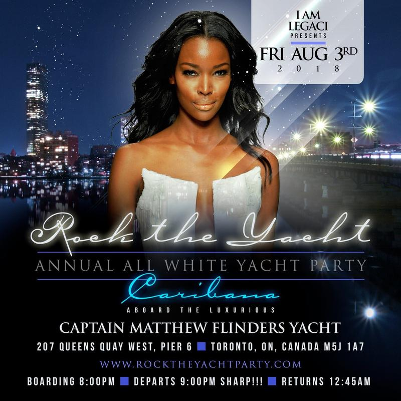 ROCK the YACHT the 6th Annual ALL WHITE YACHT PARTY • Caribana