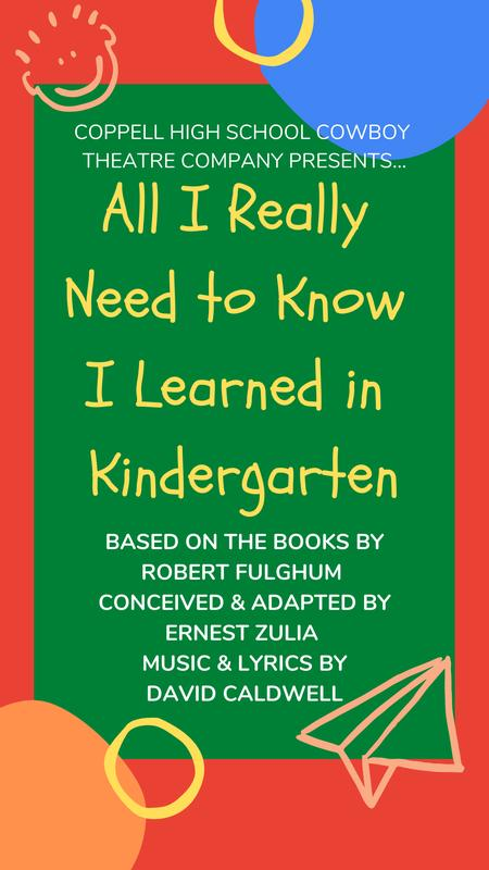 """""""All I Really Need to Know I Learned in Kindergarten"""""""