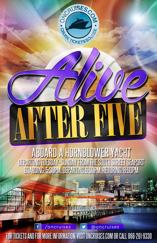 Alive After Five Cruise - Saturdays