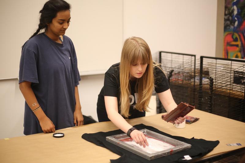 Teen Homeschool Workshop: Souvenir Screenprinting