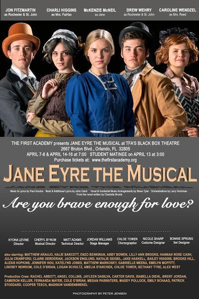 Jane Eyre the Musical Tickets in Orlando, FL, United States