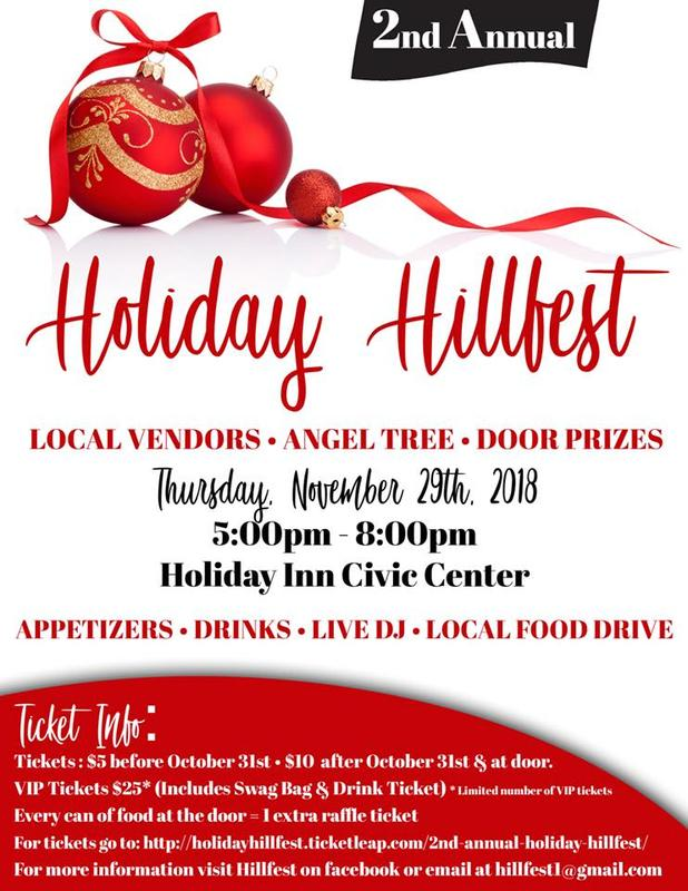 2nd Annual Holiday Hillfest