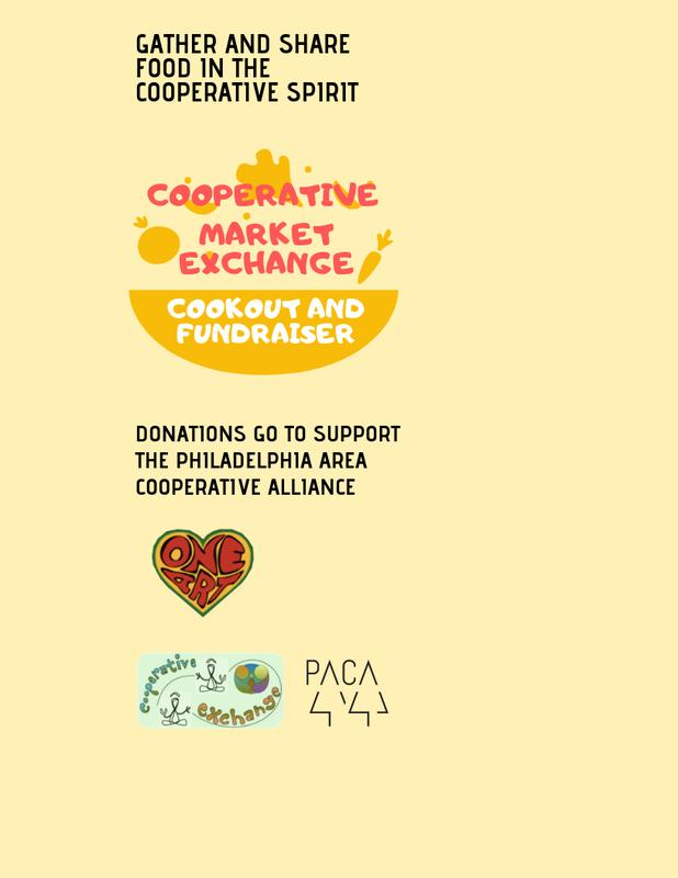 PACA Fundraising Cookout and Cooperative Market Exchange