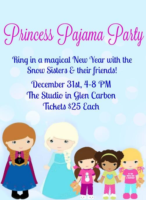 princess pajama party tickets in glen carbon il united states