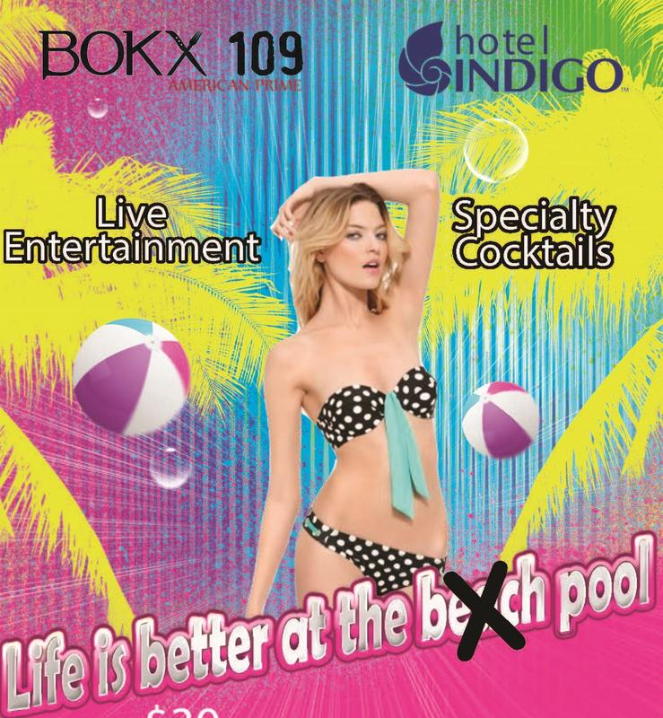 Pool Party Sundays @ BOKX 109