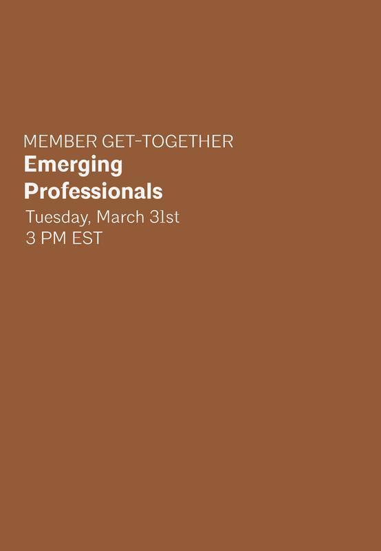 Member Get-Together: Emerging Professionals