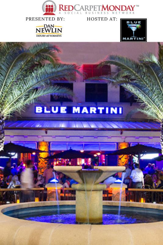 RedCarpetMonday Orlando Business Networking Event hosted at Blue Martini