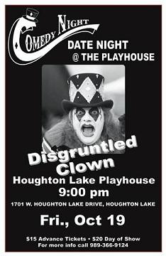 Comedy Night  with the Disgruntled Clown