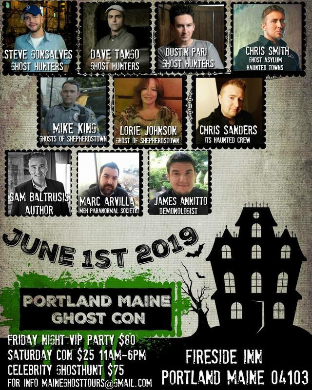 Portland Maine Ghost Con