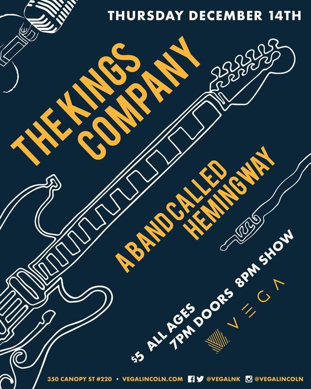 The Kings Company + A Band Called Hemingway