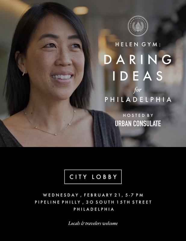 City Lobby: Helen Gym