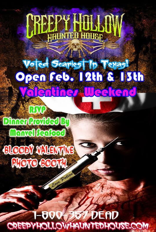 Creepy Hollow Bloody Valentines Weekend
