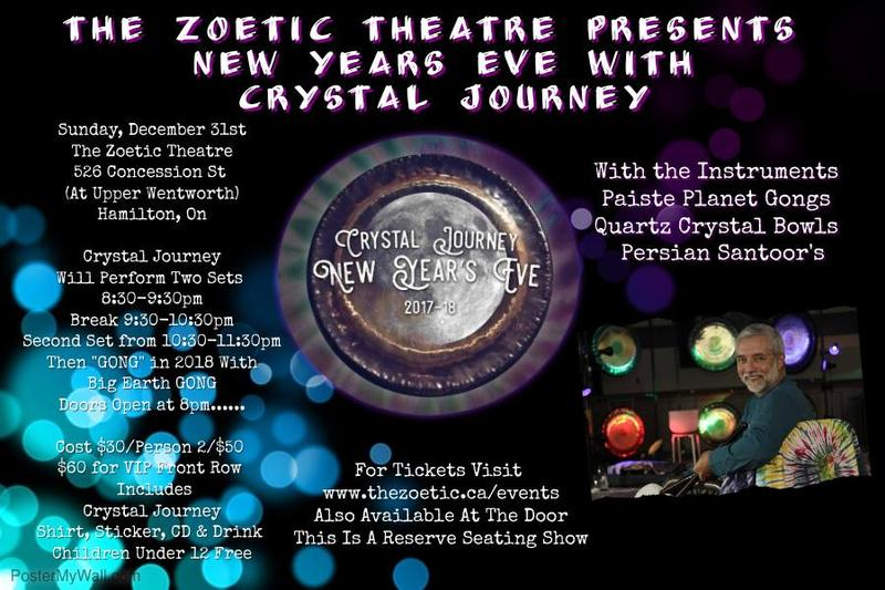 Crystal Journey New Year's Eve