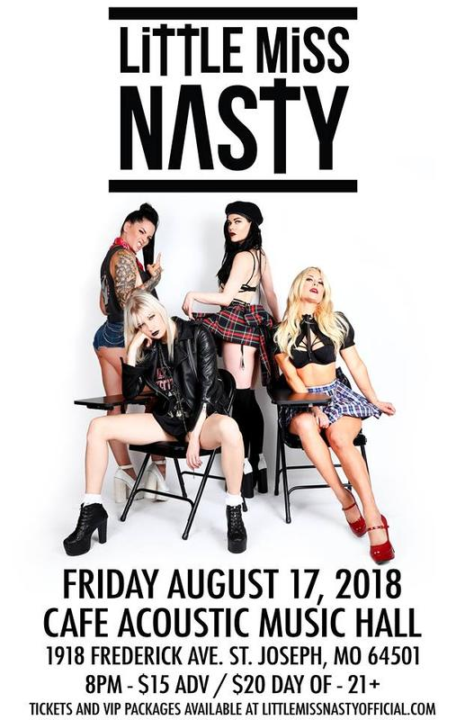 Little Miss Nasty Rock/Metal Burlesque with special guests Gina And The Eastern Block