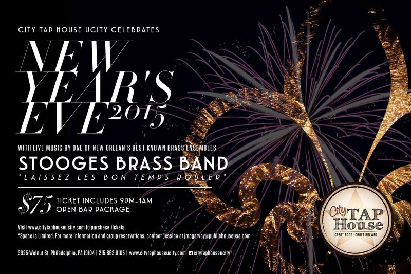 New Years Eve 2015 with Stooges Brass Band