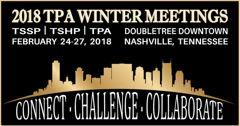 TPA-TSSP Winter Meeting 2018