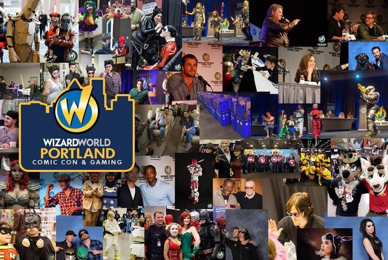 Wizard World PORTLAND Comic Con & Gaming 2017 Admission