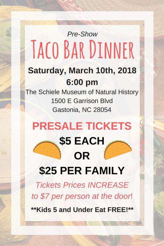 FC Chorus Taco Bar Dinner