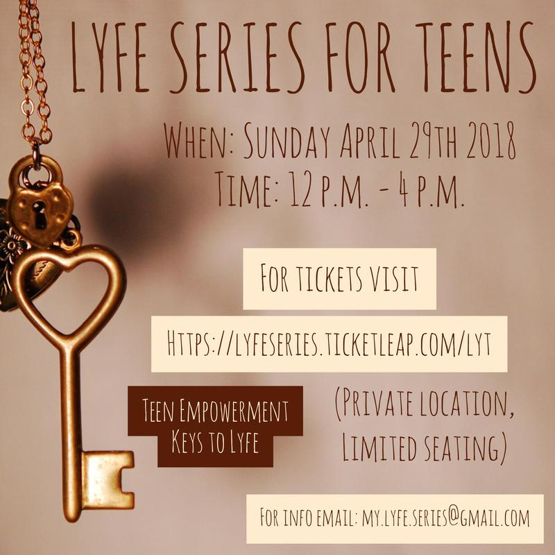 L.Y.F.E Series for Teens