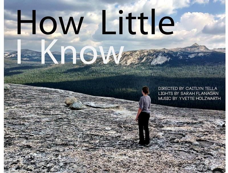 """How Little I Know"" presented by, scatterstate theater"