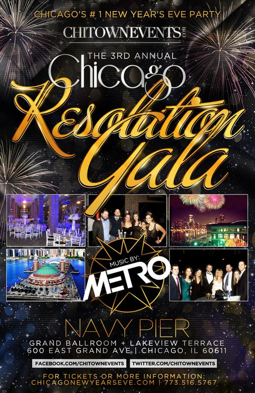 The 3rd Annual Chicago Resolution Gala at Grand Ballroom