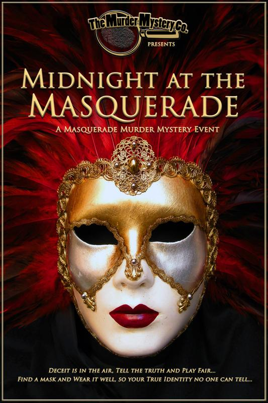 Midnight at the Masquerade (Murder Mystery)