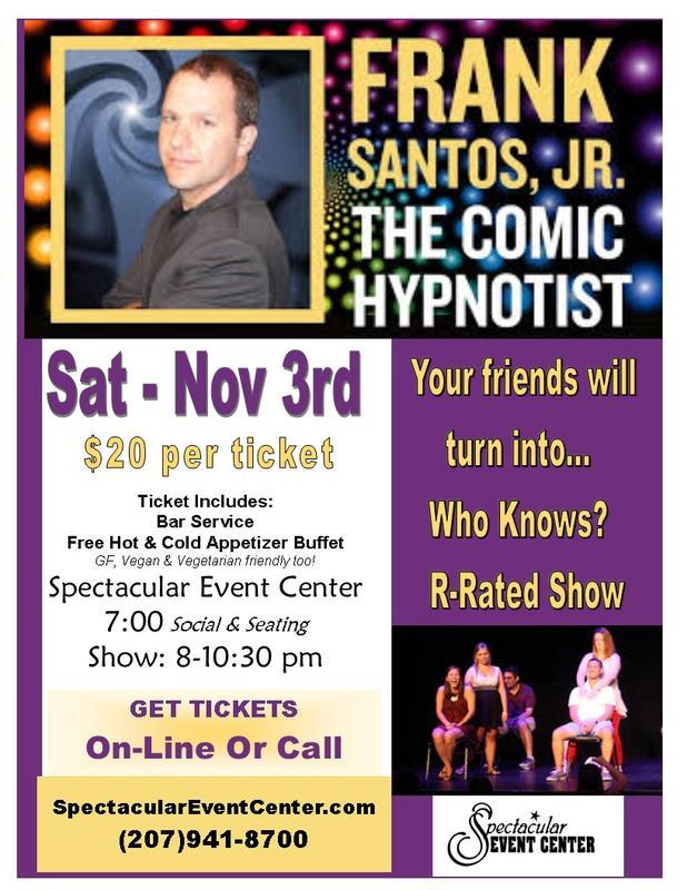 R-Rated Hypnotist Show November