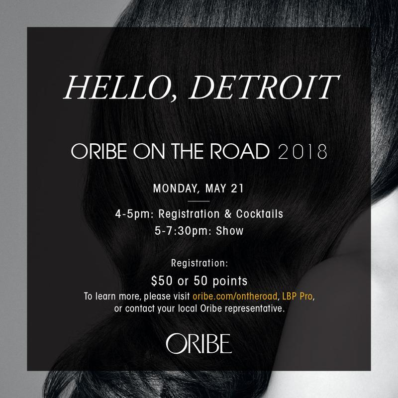Oribe On The Road: Detroit