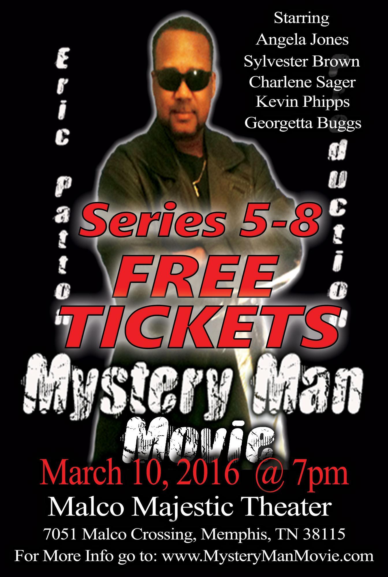 mystery man movie series 58 tickets in memphis tn