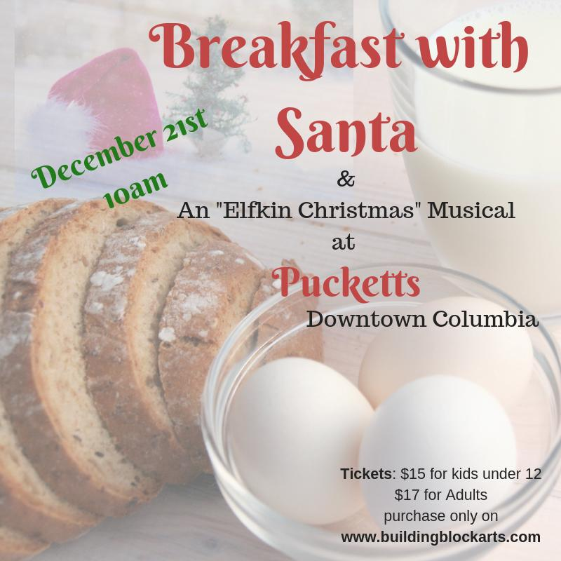 Breakfast with Santa and show