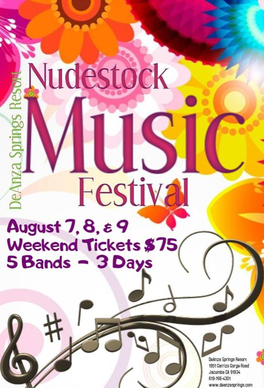Nudestock Music Festival