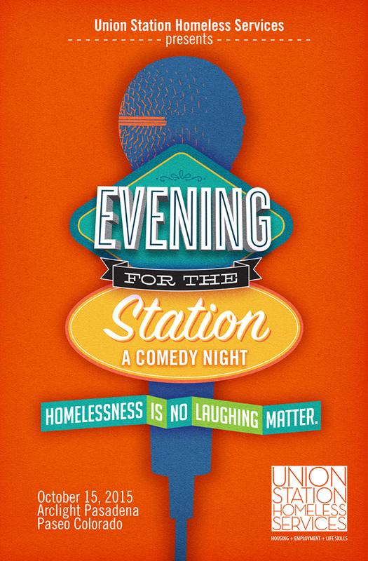 Evening for the Station - Homelessness is no Laughing Matter