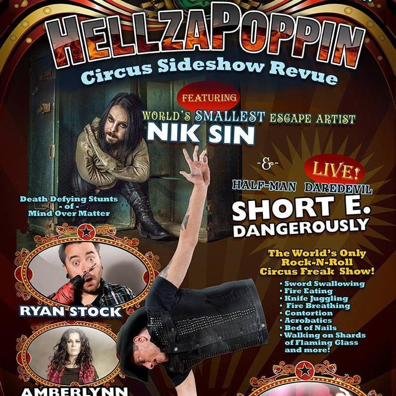Hellzapoppin Circus Sideshow (21+)