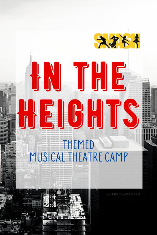 In the Heights Themed Musical Theatre Camp