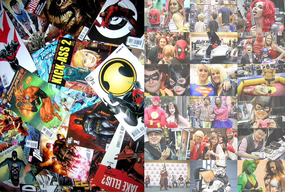Chicago comic con 2014 wizard world vip package 4 day for Weekend in chicago packages