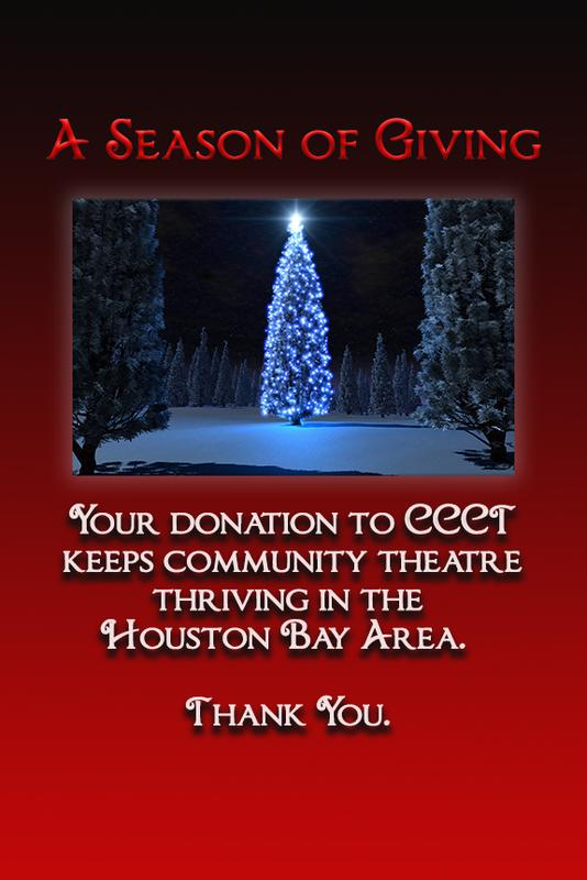 Contribute to CCCT - Support the Theatre You Love