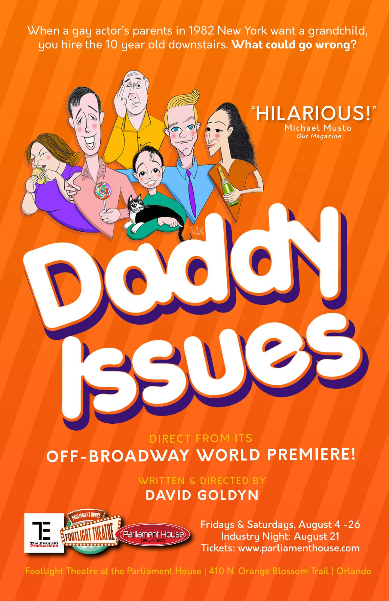 Daddy Issues Tickets in Orlando FL United States