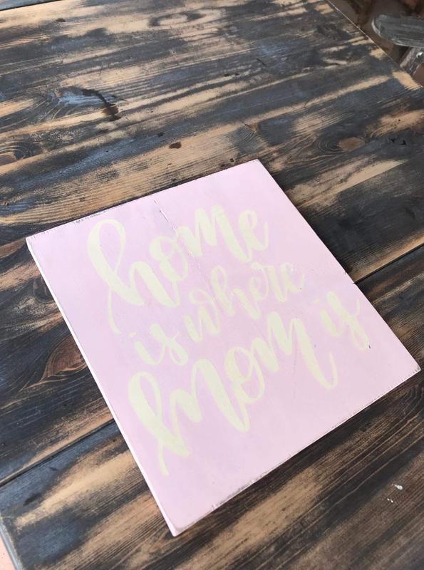 Make & Take Wooden Sign