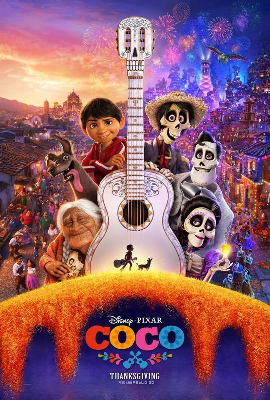 Monday Movie Matinee- Coco
