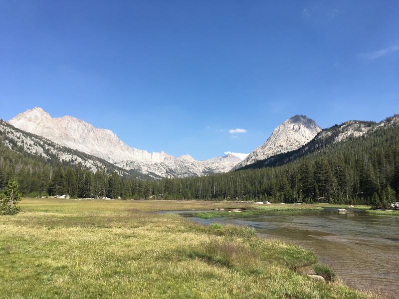 High Sierra Cross Country Camp