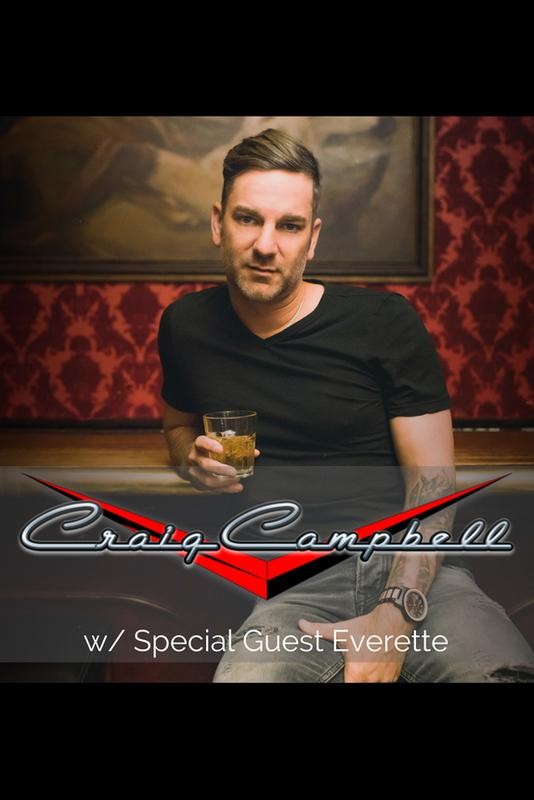Craig Campbell w/ Special guest Everette