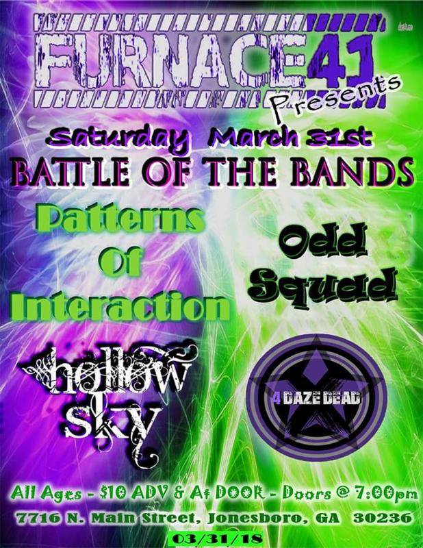 March 31st BOTB's at Furnace 41