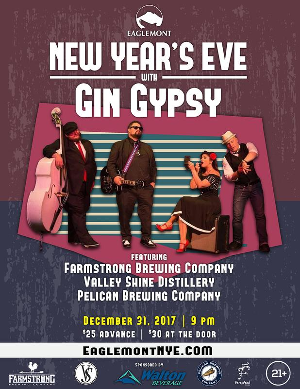 New Year's Eve 2017 with Gin Gypsy