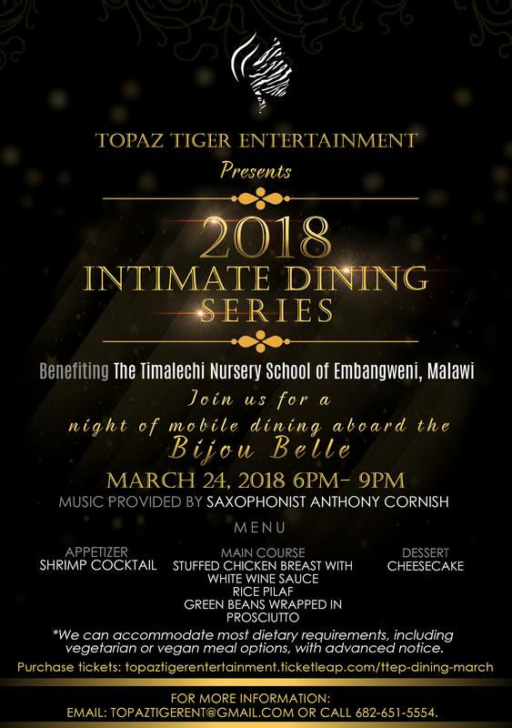 2018 Intimate Dining Series