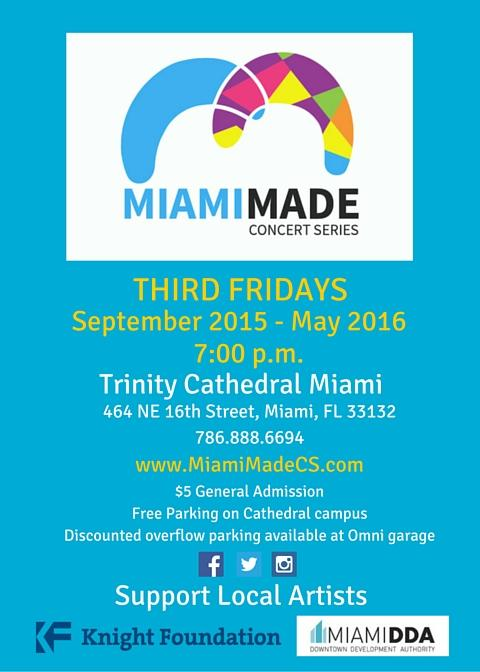 MiamiMade Concert Series: Best Of MiamiMade