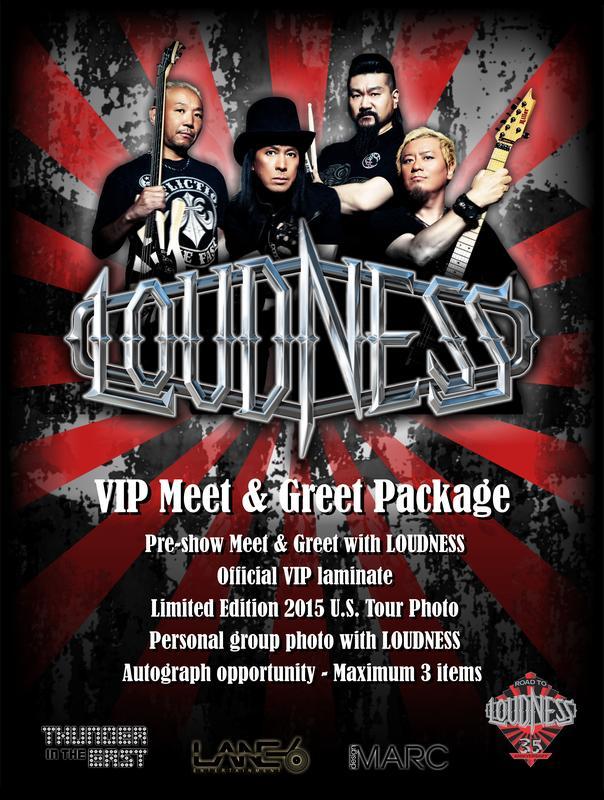 LOUDNESS VIP MEET & GREET - STUDIO SEVEN