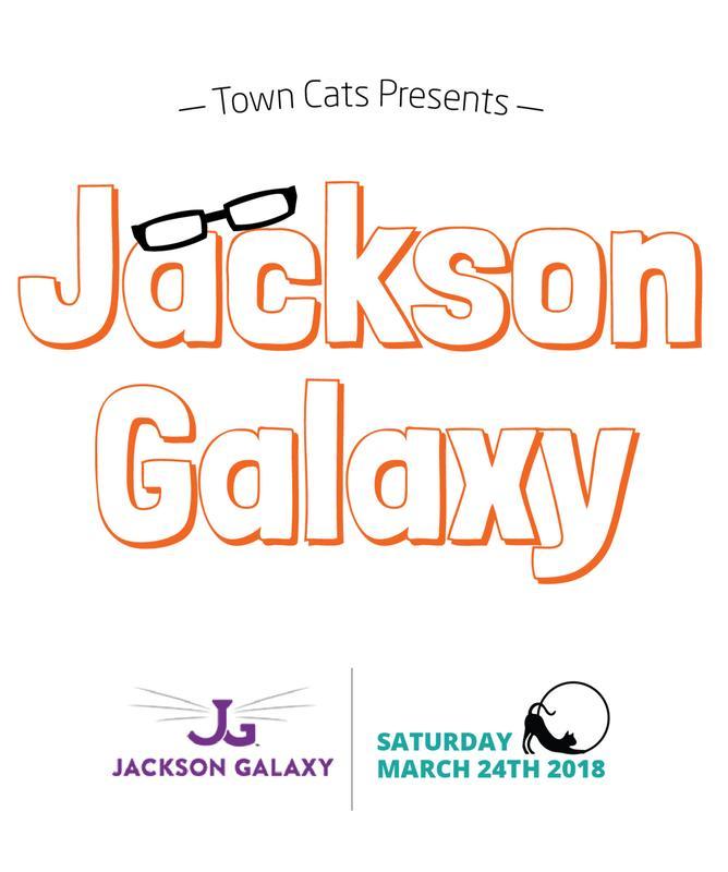 Town Cats Presents: Jackson Galaxy!