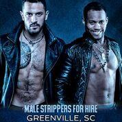 Hire a Male Stripper Greenville, SC - Private Party Male Strippers for Hire Multiple Events