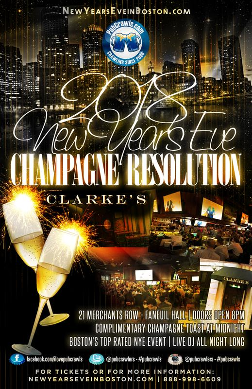 "New Years Eve ""Champagne Resolution"" At Clarke's"